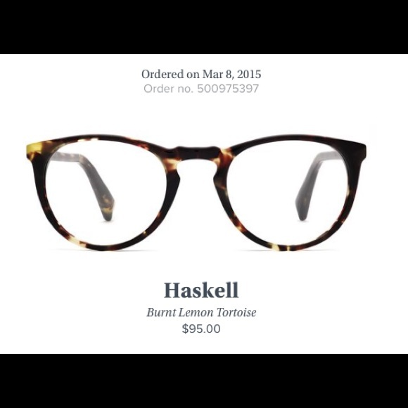 2f9ba99a19 Warby Parker Haskell frames. M 5861ca7841b4e00de10231ac