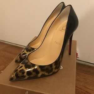 Christian Louboutin Shoes - NEW Christian Louboutin Pigalle Follies Leopard