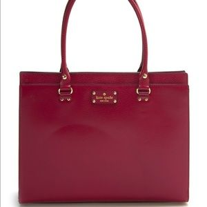 kate spade Handbags - Cranberry Kate Spade Kory Wellesley Bag