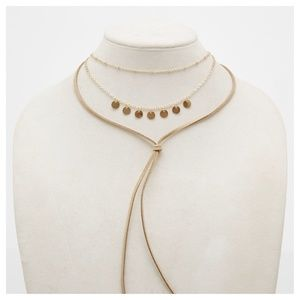 Jewelry - Boho Layered Choker Wrap Necklace