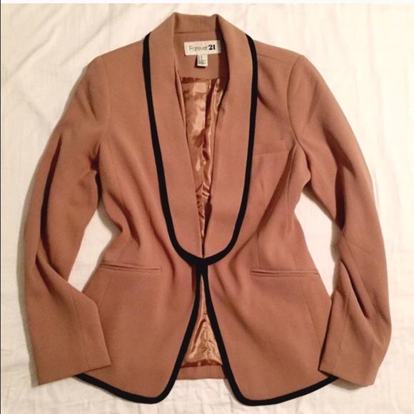 Forever 21 Jackets & Blazers - Pink beige blazer