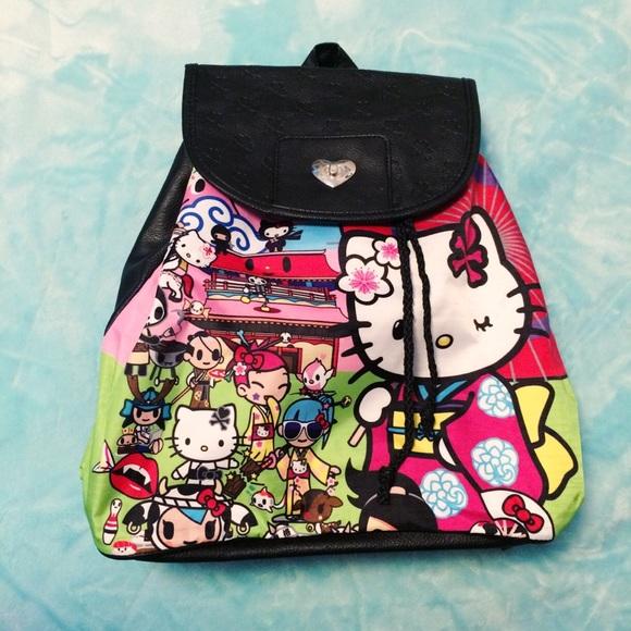 1142dba11 Tokidoki x Hello Kitty Sanrio Geisha Backpack. M_5861ceea41b4e048650240b7