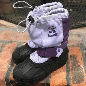 Kamik Other - Kamik purple snow boots size 11