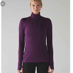 Lululemon first mile 1/2 zip