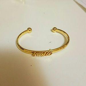 Kate Spade smile bracelet