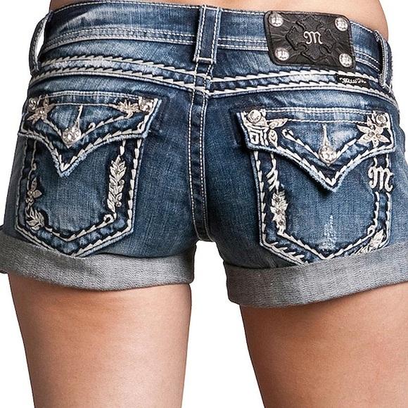 Miss Me Shorts | Size 25 Jean | Poshmark