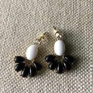 Jewelry - Black and White Earrings