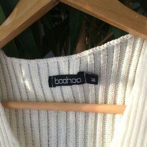 6dff94e4c5e Boohoo Tops | Depop 4 Less Vneck Knit Crop Top | Poshmark