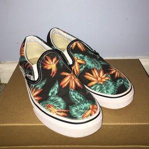 27f70ba09fae Vans Shoes - Vans Slip-On Palm Tree Style Sneakers