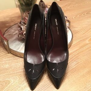 Saks Fifth Avenue Shoes - DKNY Italian leather pumps