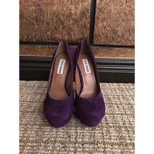 Steve Madden Purple Heels