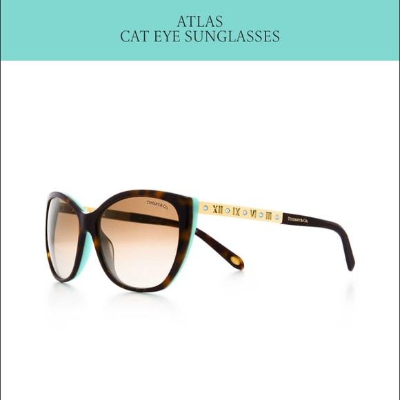 6dc4f694437 Tiffany s Cat Eye Sunglasses. M 5861e6bfc2845689c61637f4