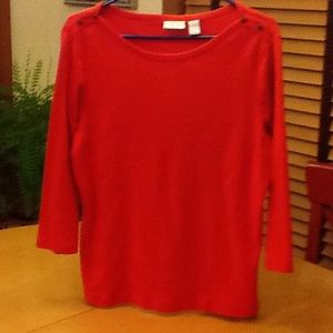 Chico's Tops - 🌺 Chico's 3/4 sleeve top