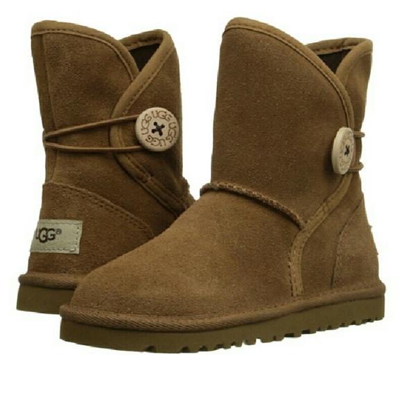 bd1bdf43b9a BRAND NEW Leona Ugg Boots Big Kid Girls size 3 NWT