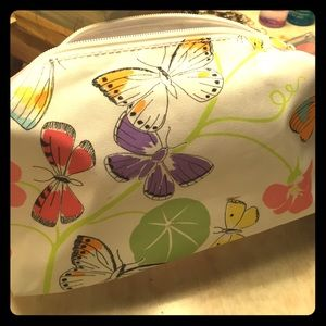 Clinique Handbags - Clinique Butterfly Makeup Bag