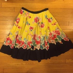 Angie Dresses & Skirts - BUY ONE GET TWO SALE!  Floral A-line skirt