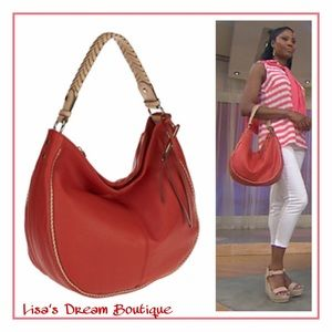 b. makowsky Handbags - ❄️Sale❄️✨B. Makowsky •Lola• Slouchy Hobo Handbag✨