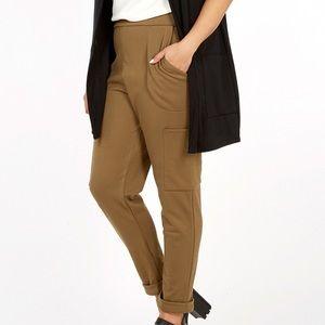 ASOS Curve Pants - Pink Clove Ponte Combat Trouser Khaki US 24