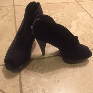 Shoes - Bakers suede bootie