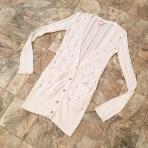 Candie's Sweaters - CANDIE'S Studded cardigan