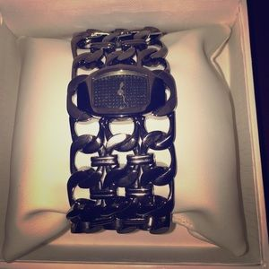 Roberto Cavalli Accessories - New Women Roberto Cavalli Chain bracelet Watch