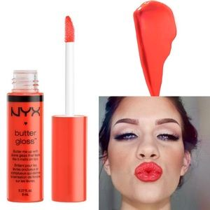 NYX Accessories - 🔅NYX Butter Gloss *Peach Cobbler*🔅W/ FREE GIFTS!