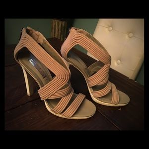 BCBG Generation Nude colored heels size 8.5