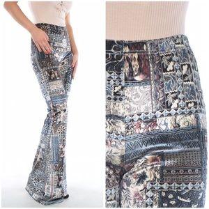 Pants - Reorder! Stunning velvet flare pants!