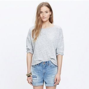 Madewell Tops - madewell french terry pullover