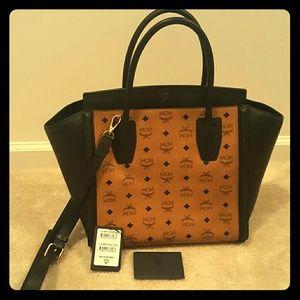 MCM Handbags - AUTHENTIC MCM  MEDIUM KATHY VISETOS TOTE