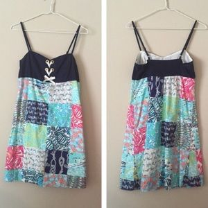 Lilly Pulitzer Dresses & Skirts - Rilee dress in Multi Sailor Patch