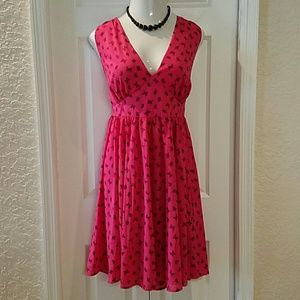 HP Torrid Pink Butterfly Swing Dress plus size 18