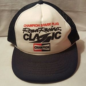 Champion Spark plug road racing classic hat
