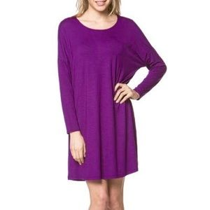 Long sleeve Piko dress