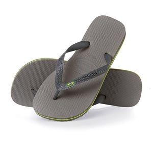 Havaianas Shoes - NWT Gray Havianas Flip Flops Sandals