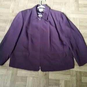 Style & Co Jackets & Blazers - Woman Light Jacket Size 22 W