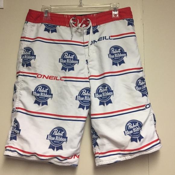 80d41d5711 Pabst blue ribbon men's bathing suit. M_5862a0232fd0b7b2811836c5