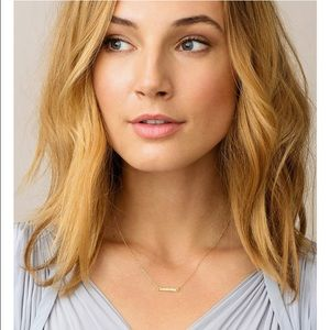 Gorjana Knox necklace