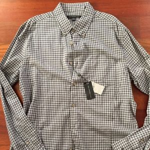 NWT Men's John Varvatos Casual Button Down