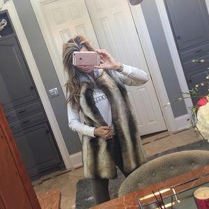 Fabulous Furs Jackets & Blazers - NEW Diane Salyers Fabulous Fur faux vest sz xs sm
