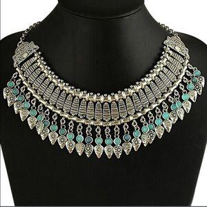 New Bohemian Style Bib Necklace