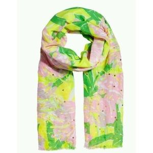 Lilly Pulitzer for Target Fan Dance Flamingo Scarf