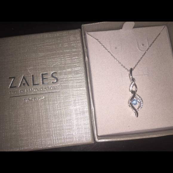 Zales Jewelry Necklaces >> Zales Jewelry Diamond Necklace Poshmark