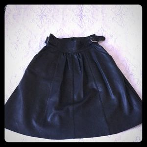 Muubaa Dresses & Skirts - *NWT* lamb leather long skirt / LA boutique