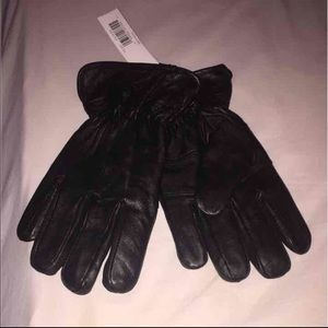 Other - NWT Genuine Leather Insulated Gloves