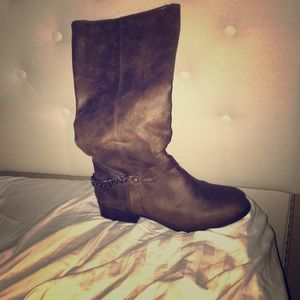 Size 12 extra wide calf riding boots