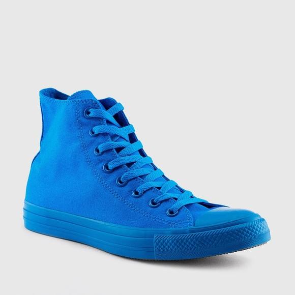 converse shoes converse chuck taylor spray paint blue new