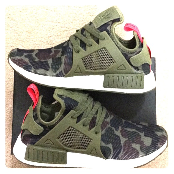 brand new 178e6 8090d Adidas NMD XR1 Olive Duck Camo