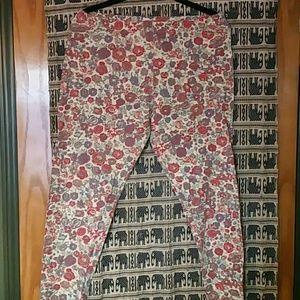 Vintage Pants - Floral leggings