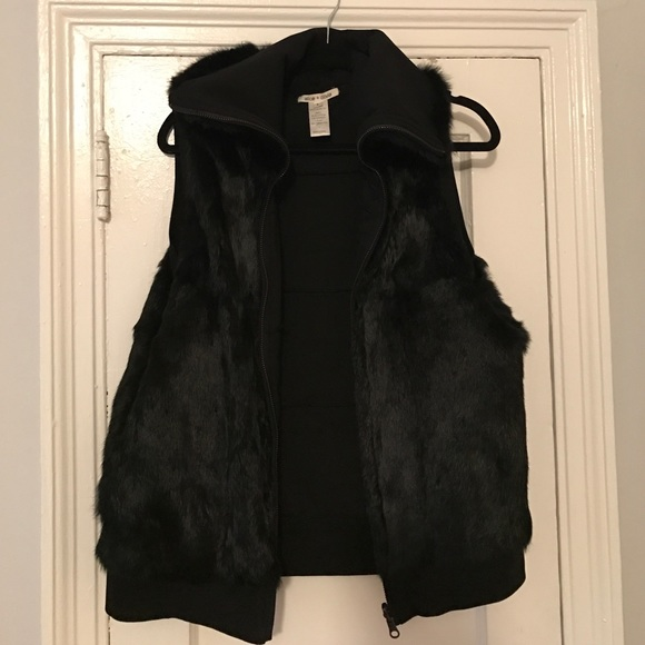 Alice + Olivia Jackets & Coats - 100% RABBIT FUR VEST